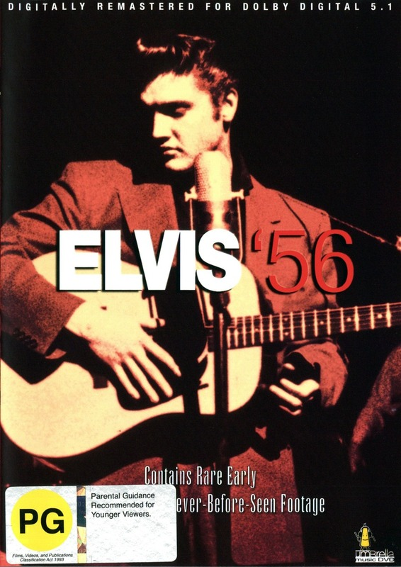 Elvis '56 on DVD