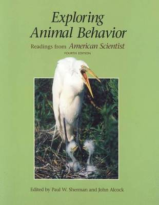"Exploring Animal Behavior: Readings from ""American Scientist"""