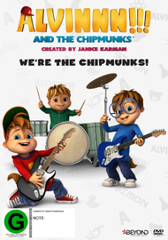 Alvin And The Chipmunks: We're The Chipmunks! on DVD