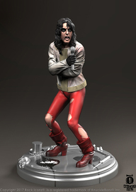 """Rock Iconz: Alice Cooper (Ballad of Dwight Fry) - 9"""" Statue"""