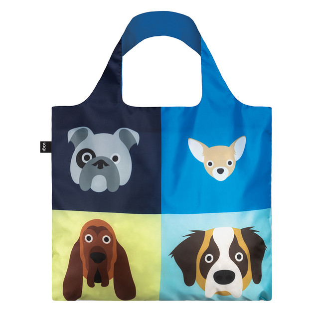 Loqi: Shopping Bag Cats & Dogs Collection - Dogs
