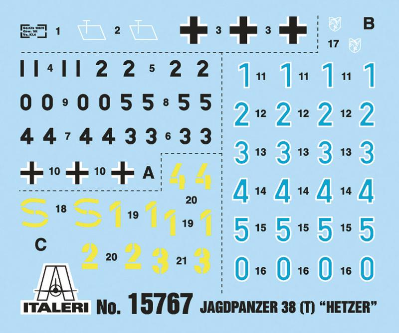 Italeri 1/56 Jagdpanzer (Warlord Games) - Scale Model Kit image