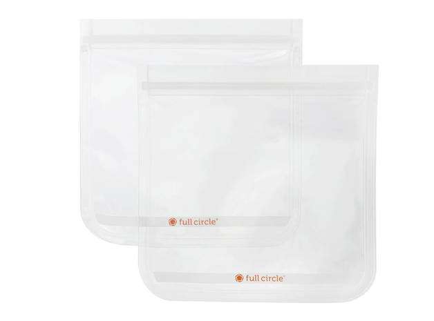 Full Circle: Reusable Sandwich Bags - Clear (Set/2)