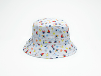 Banz Carewear: Bucket Sunhat - Seaside (4-6 years)