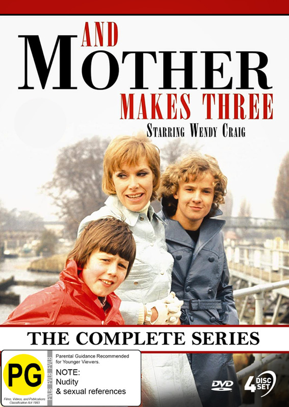 And Mother Makes Three: The Complete Series on DVD