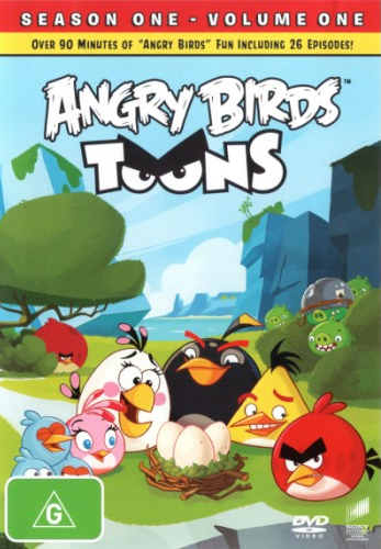 Angry Birds Toons - Season 1: Volume 1 on DVD