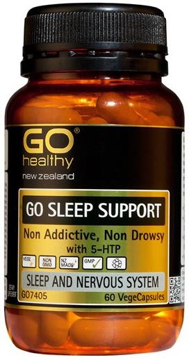 Go Healthy: GO Sleep Support (60 Capsules)