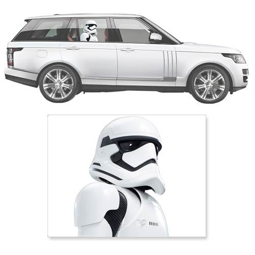 Star Wars: Stormtrooper - Passenger Series Car Decal image