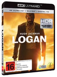 Logan on Blu-ray, UHD Blu-ray image