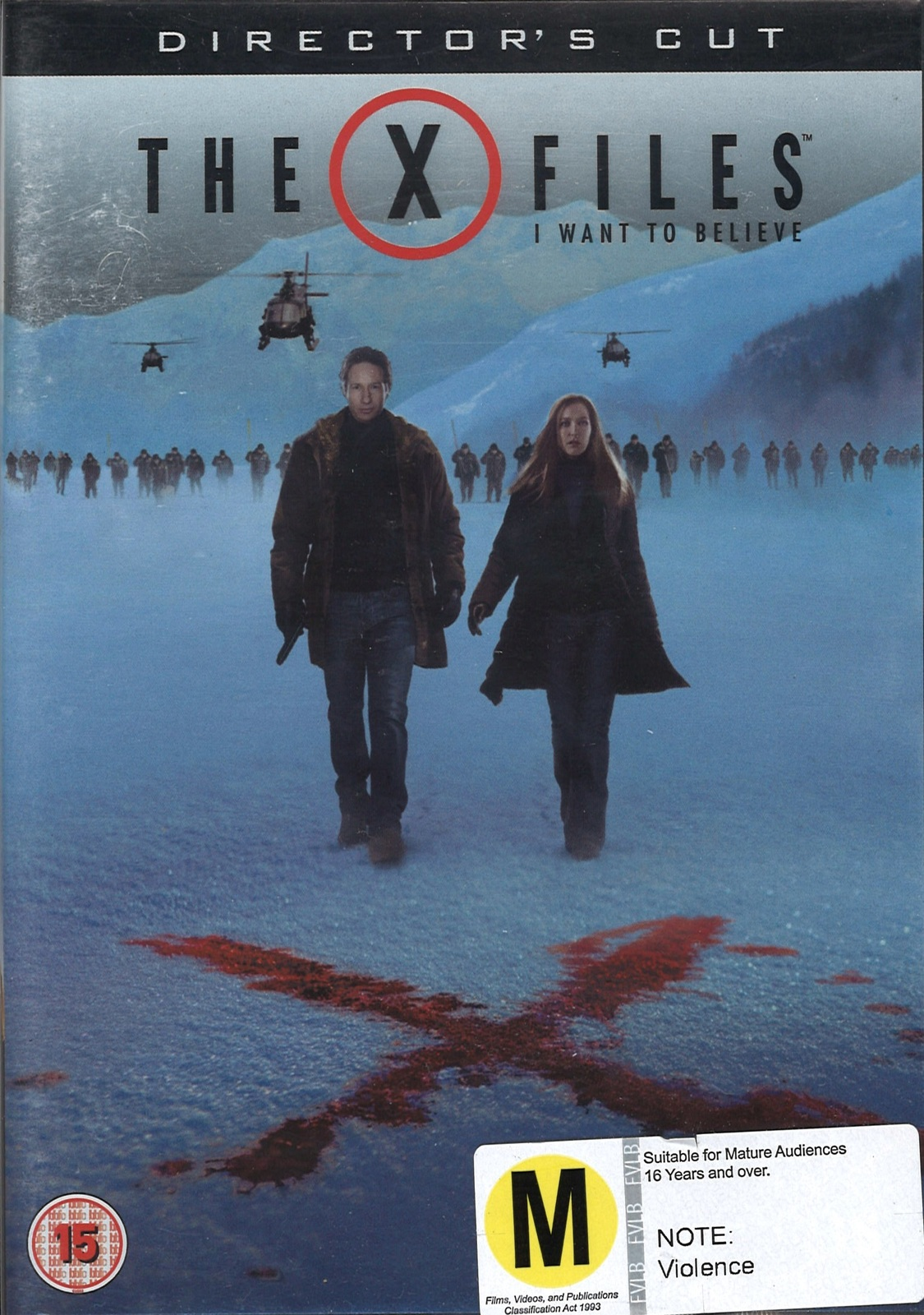 X Files Movie: I Want To Believe (Director's Cut) on DVD image
