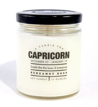 Whiskey River Co: Astrology Candle - Capricorn