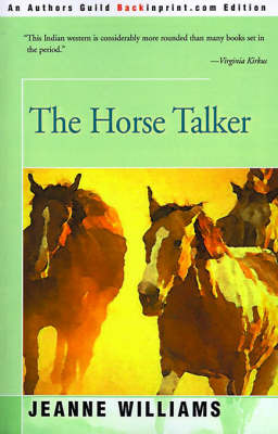 The Horse Talker by Jeanne Williams image