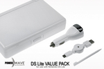 Powerwave DS Lite Value Pack- White for Nintendo DS