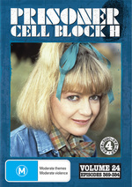 Prisoner - Cell Block H: Vol. 24 - Episodes 369-384 (4 Disc Set) on DVD