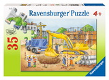 Ravensburger 35 Piece Jigsaw Puzzle - Busy Builders