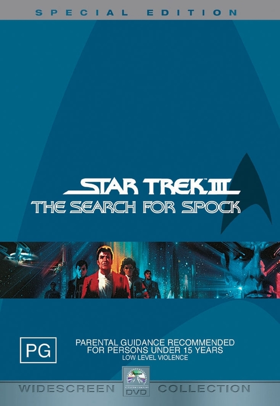 Star Trek 03 - The Search For Spock - Special Edition (2 Disc) on DVD