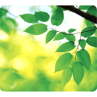 Fellowes Mouse Pad - Recylced - Optical - Leaves