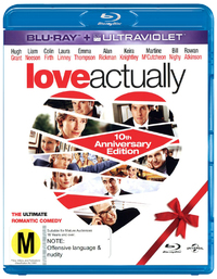 Love Actually - 10th Anniversary Edition on Blu-ray, UV