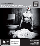 Andy Warhol's Blood for Dracula on Blu-ray