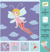 Djeco: Design - Fairies Stencils