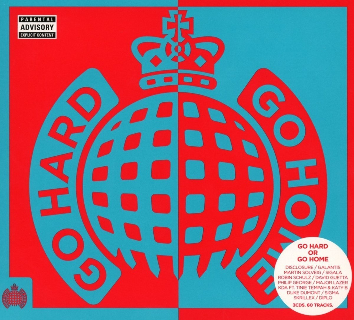 Go Hard Or Go Home - Ministry of Sound (3CD) by Various Artists image