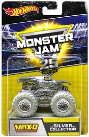 Hot Wheels: 1:64 Monster Jam Anniversary Vehicle (Chrome Maximum Destruction)