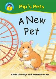 Start Reading: Pip's Pets: A New Pet by Claire Llewellyn image