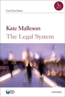 The Legal System by Kate Malleson