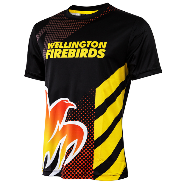 Wellington Firebirds Youth Performance Tee (Size 16)