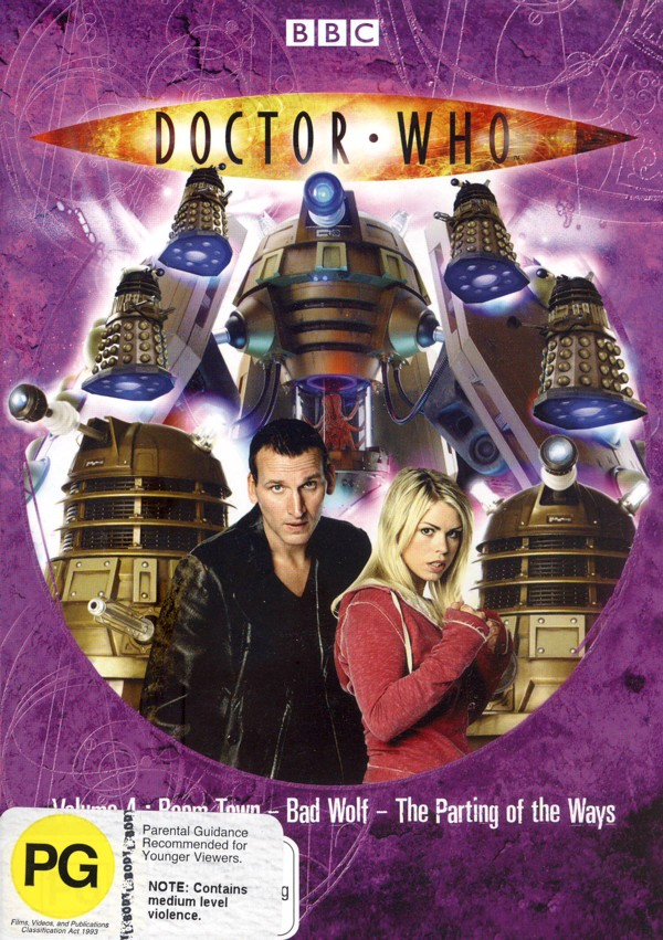 Doctor Who (2005) - Series 1: Vol. 4 on DVD image