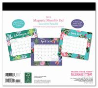 Mia Charro: Succulent 2019 Magnetic Monthly Planner image