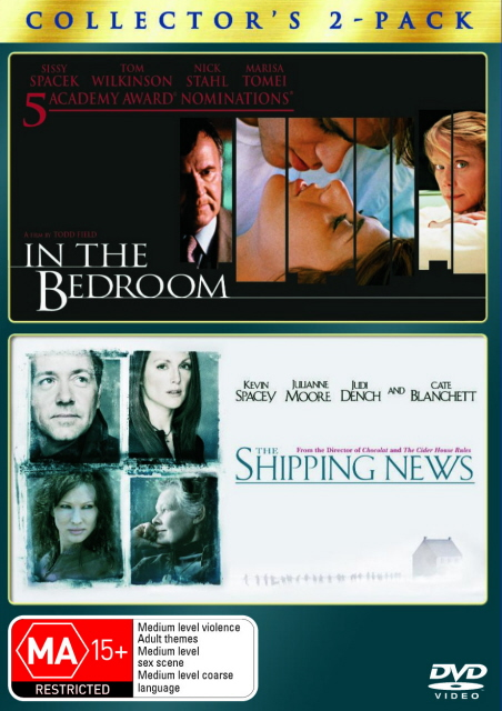 In The Bedroom / The Shipping News - Collector's 2-Pack (2 Disc Set) on DVD image