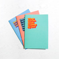 Cynical Stationery Notebook Trio