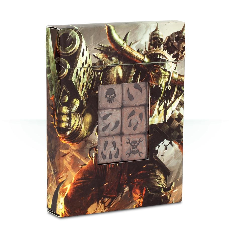 Warhammer 40,000 Orks Dice Set image
