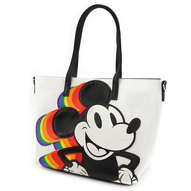 990e066291c Loungefly  Mickey Mouse - Mickey Rainbow Tote
