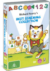 Richard Scarry's Best Learning Collection on DVD