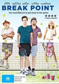 Break Point on DVD