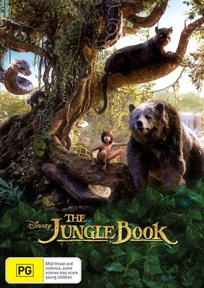 The Jungle Book (2016) on DVD image