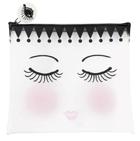 Miss Etoile: Medium Cosmetic Bag - Eyes and Dots