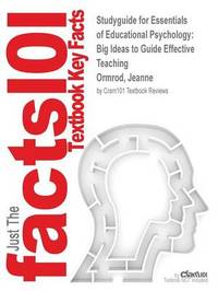 Studyguide for Essentials of Educational Psychology by Cram101 Textbook Reviews image