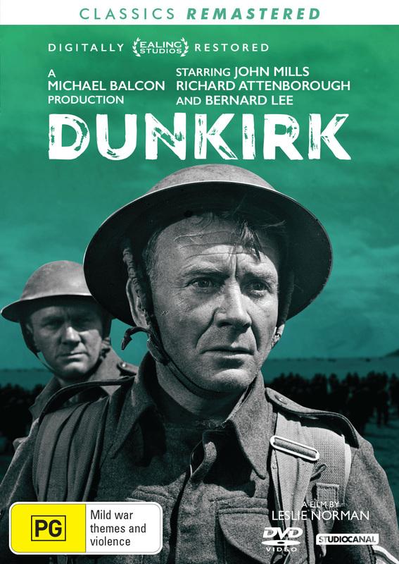 Dunkirk (1958) on DVD