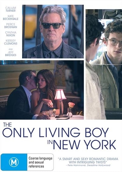 The Only Living Boy In New York on DVD image