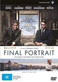 Final Portrait on DVD