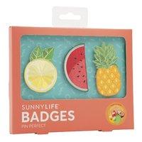 Sunnylife Party Badges - Fruit Salad image