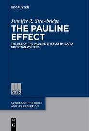 The Pauline Effect by Jennifer R Strawbridge