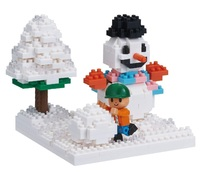 nanoblock: Sites To See - Play In The Snow
