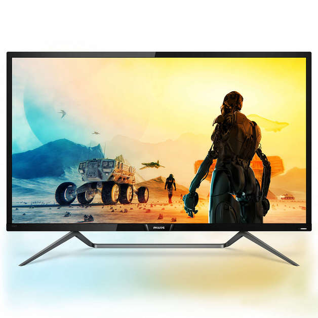 """43"""" Philips 4K HDR Display with Ambiglow"""