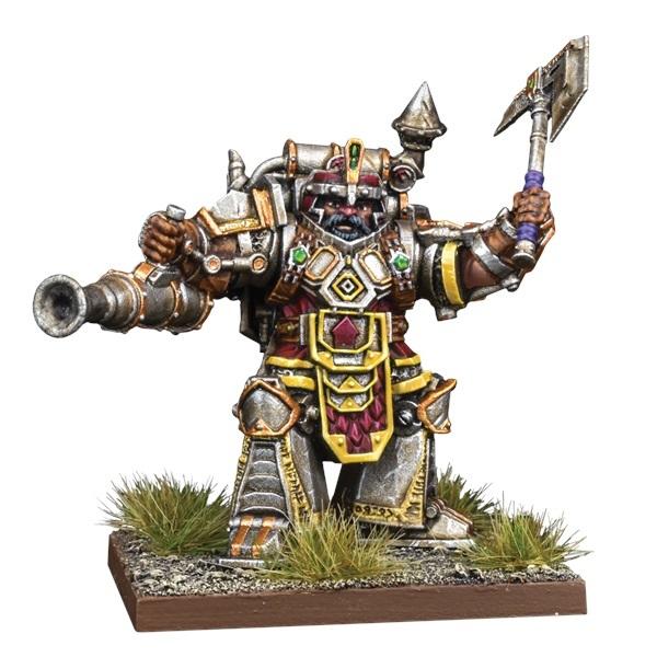 Kings of War Vanguard: Dwarf Support Pack Steel Juggernaut