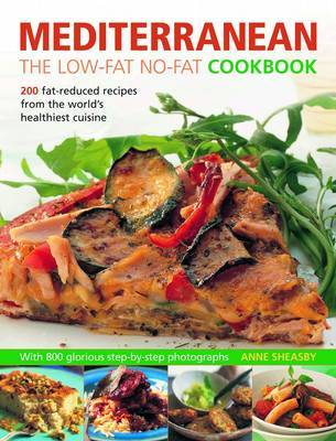 Mediterranean: The Low Fat No Fat Cookbook by Anne Sheasby image