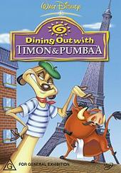 Dining Out With Timon and  Pumbaa on DVD